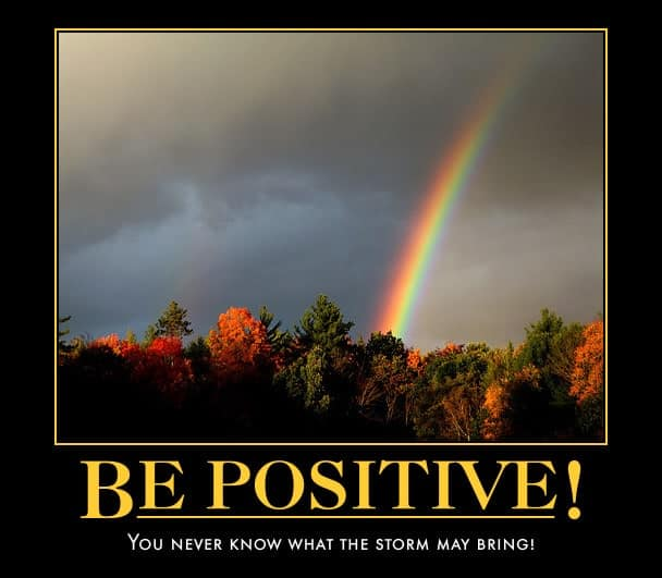 Be Positive by Paul Hamilton
