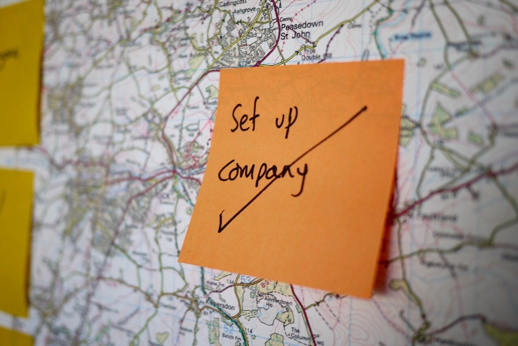 Set up company by Giles Turnbull