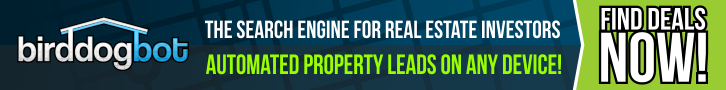 real estate investment search engine