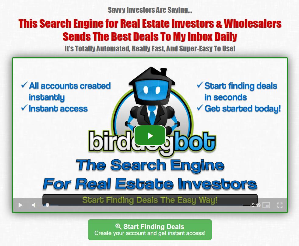 Find Real Estate Investing Deals